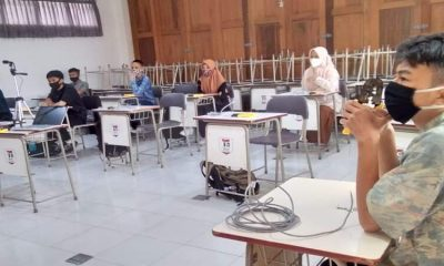 Pembelajaran luring yang digelar SMK Telkom Malang dikhususkan untuk siswa kelas 10.