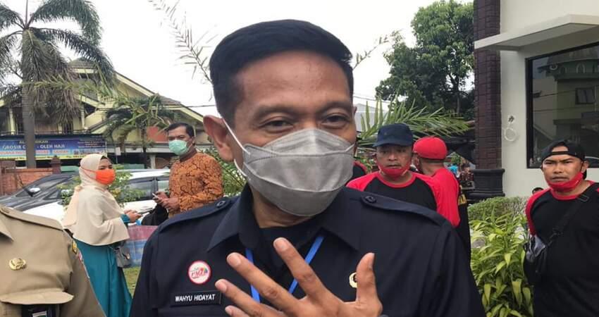 Sekretaris Daerah (Sekda) Kabupaten Malang, Wahyu Hidayat.