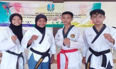 Atlet taekwondo asal Lumajang.
