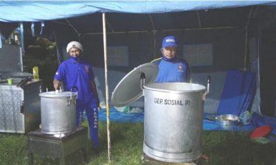Dinsos Lumajang Buka Posko Pengungsi dan Dapur Umum