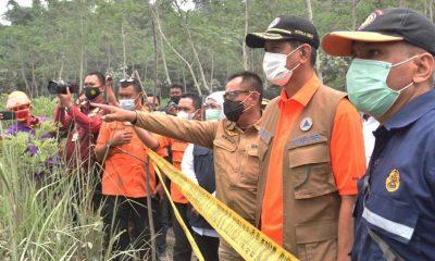 Gubernur Jatim Datangi Pos Pengamatan Gunung Api Semeru