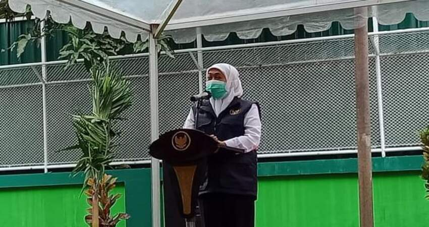 Gubernur Jatim Khofifah Indar Parawansa. (ist)