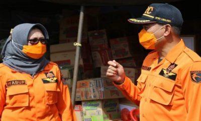 Wabup Lumajang Ikuti Gelar Pasukan Kesiapsiagaan Gunung Semeru