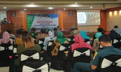 Bappeda Litbang gelar seminar untuk mempercepat pemulihan kembali ekonomi di Kota Probolinggo di Puri Manggala Bhakti, Selasa (1/12/2020).