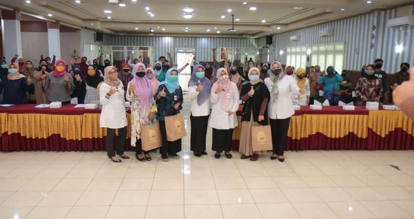 Seminar yang diselenggarakan oleh DKUPP Kota Probolinggo.