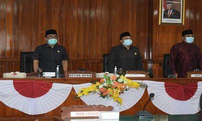 DPRD Trenggalek Paripurnakan Pengumuman Calon Bupati Terpilih dan Pemberhentian Bupati Periode 2019-2021