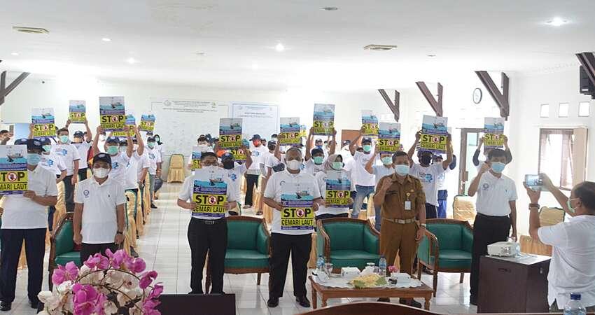 KKP bersama Masyarakat Cirebon dan Indramayu Kampanyekan Stop Cemari Laut