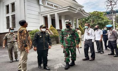 Sidak Perkantoran dan Rumah Makan, Wali Kota Sutiaji Temukan Pelanggaran