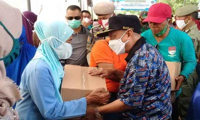Bupati Karna Tinjau Delapan Rumah Warga Desa Ketah yang Rusak Tergerus Air, Minta PUPR Bangun Bronjong