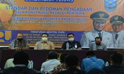 DPUPR Probolinggo Sosialisasikan Permen-PUPR 142020 dan SE Menteri PUPR 222020