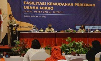 Diskopindag Fasilitasi Tiga Perizinan untuk UMKM