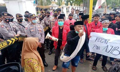 GMNI Lurug DKPP, Sampaikan Empat Tuntutan Terkait Permasalahan Pupuk Bersubsidi