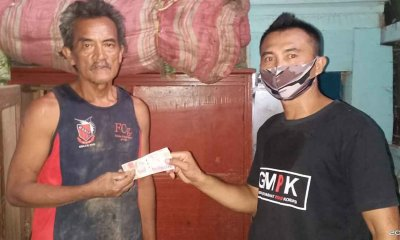 GMPK Probolinggo Ulurkan Bantuan pada Warga Terdampak Banjir Dringu