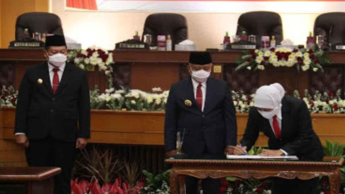 Gubernur Jatim Hadiri Sertijab Bupati Malang dan Rapat Paripurna DPRD Kabupaten Malang
