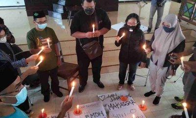 Gusdurian Jombang bersama GKJW Gelar Aksi Doa dan Tebar Virus Cinta