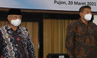 Hadiri RAT Kop SAE Pujon, Bupati dan Wakil Titip Peningkatan Produksi Susu