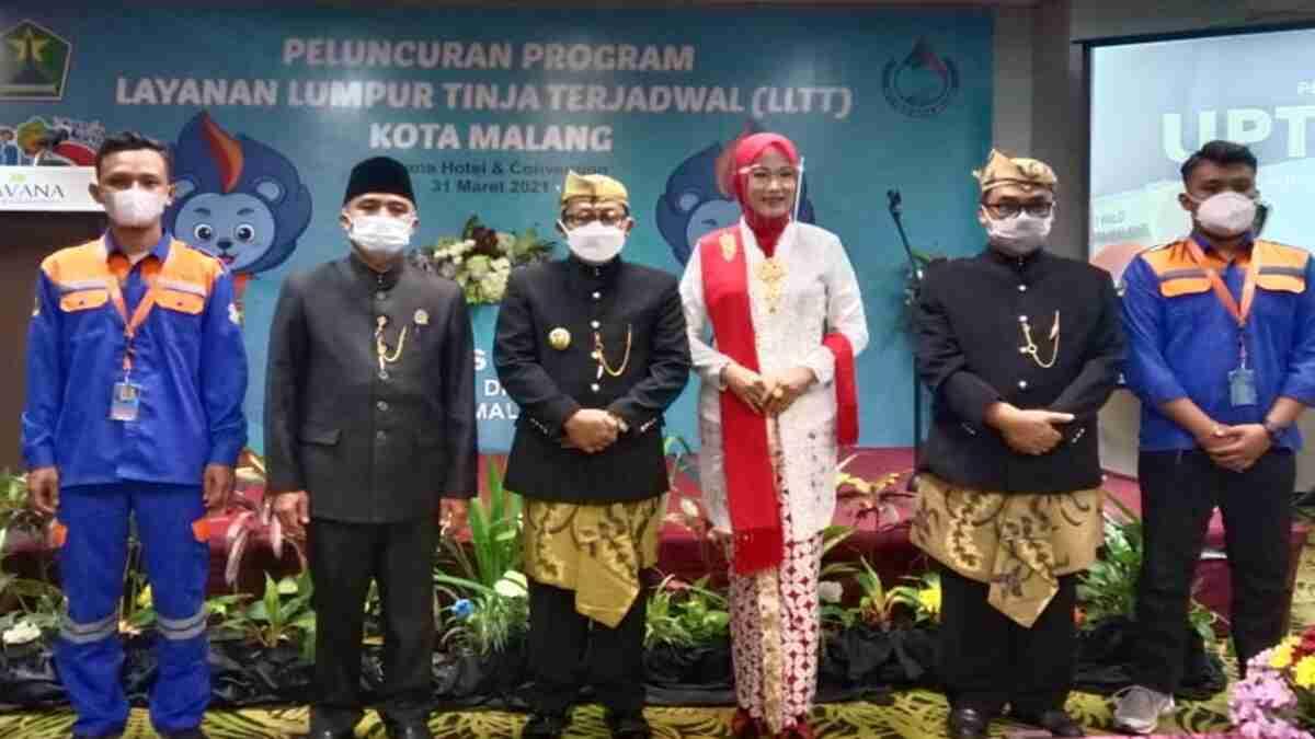 Launching LLTT, Wali Kota Sutiaji Harap Tidak Ada Penumpukan Limbah Tinja
