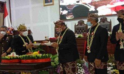 Menuju HUT ke-107 Kota Malang, Wali Kota Sutiaji Sampaikan Deretan Capaian Pembangunan di Paripurna DPRD