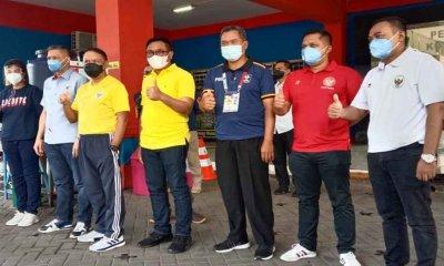 Tinjau Lokasi Latihan Borneo FC, Menpora Beri Apresiasi