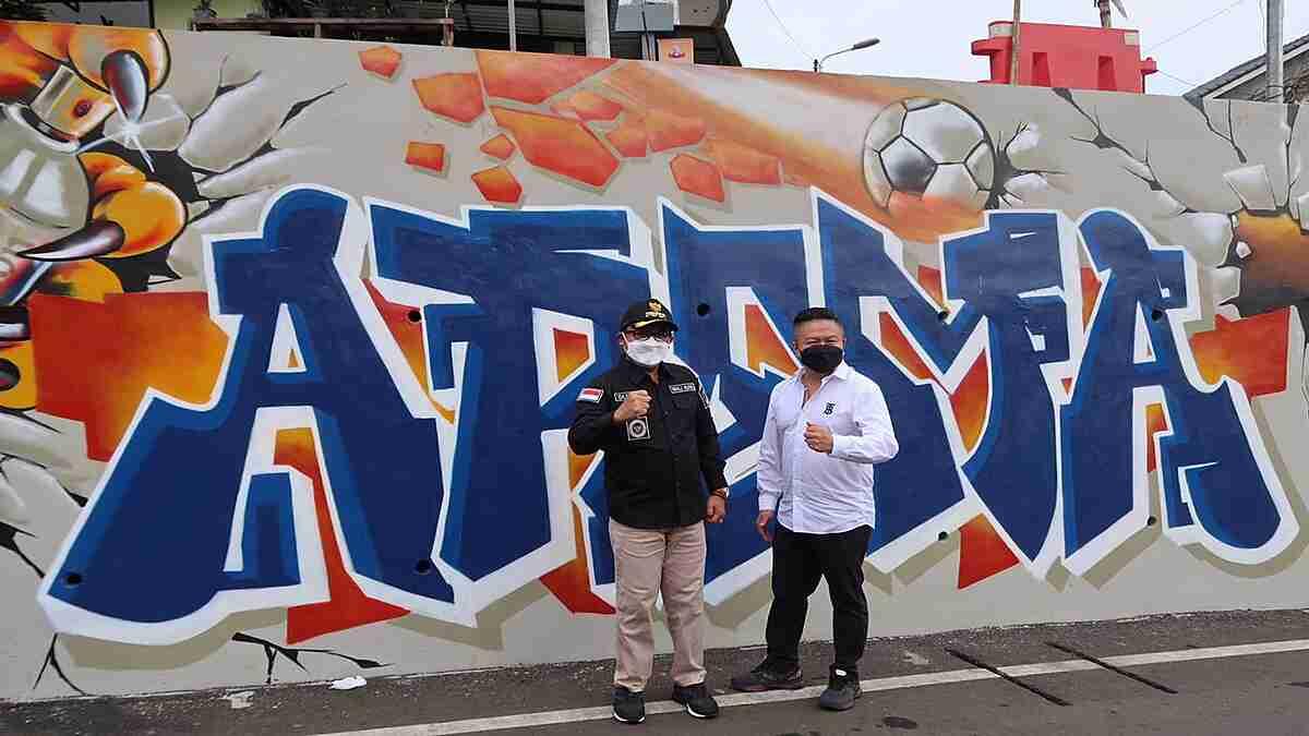 Wali Kota Sutiaji Tinjau Progres Grafiti Jembatan Kedungkandang