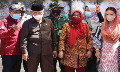 Bupati Malang dan Wabup Dampingi Krisdayanti Kunjungi Wilayah Terdampak Bencana Gempa