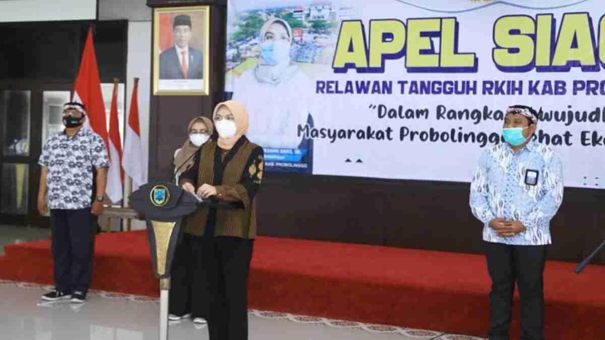 Bupati Probolinggo Pimpin Apel Siaga Relawan Tangguh RKIH