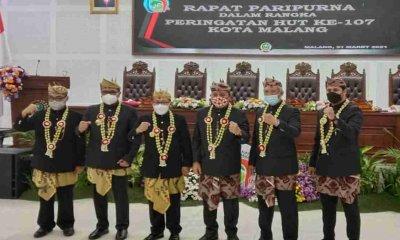 DPRD Kota Malang Gelar Rapat Paripurna HUT ke-107 Bersama Seluruh Eksekutif