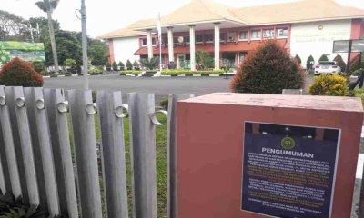 Dua Orang Karyawan Terpapar Covid-19, PN Malang Kembali Lockdown