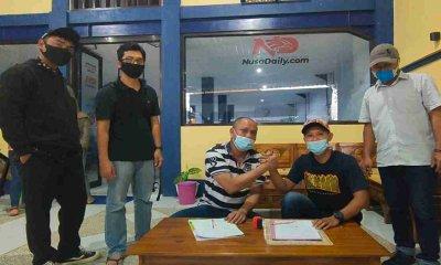 Dugaan Serangan Doxing Jurnalis Nusadaily.com Berakhir Damai