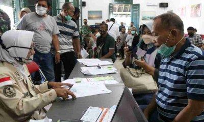 Kodim 0820Probolinggo Gelar Vaksinasi Astrazinica Tahap Pertama Bagi Lansia Purnawirawan TNI