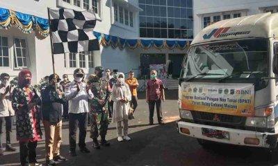 Pemkot Malang Berangkatkan Bantuan untuk Korban Gempa di Kabupaten Malang