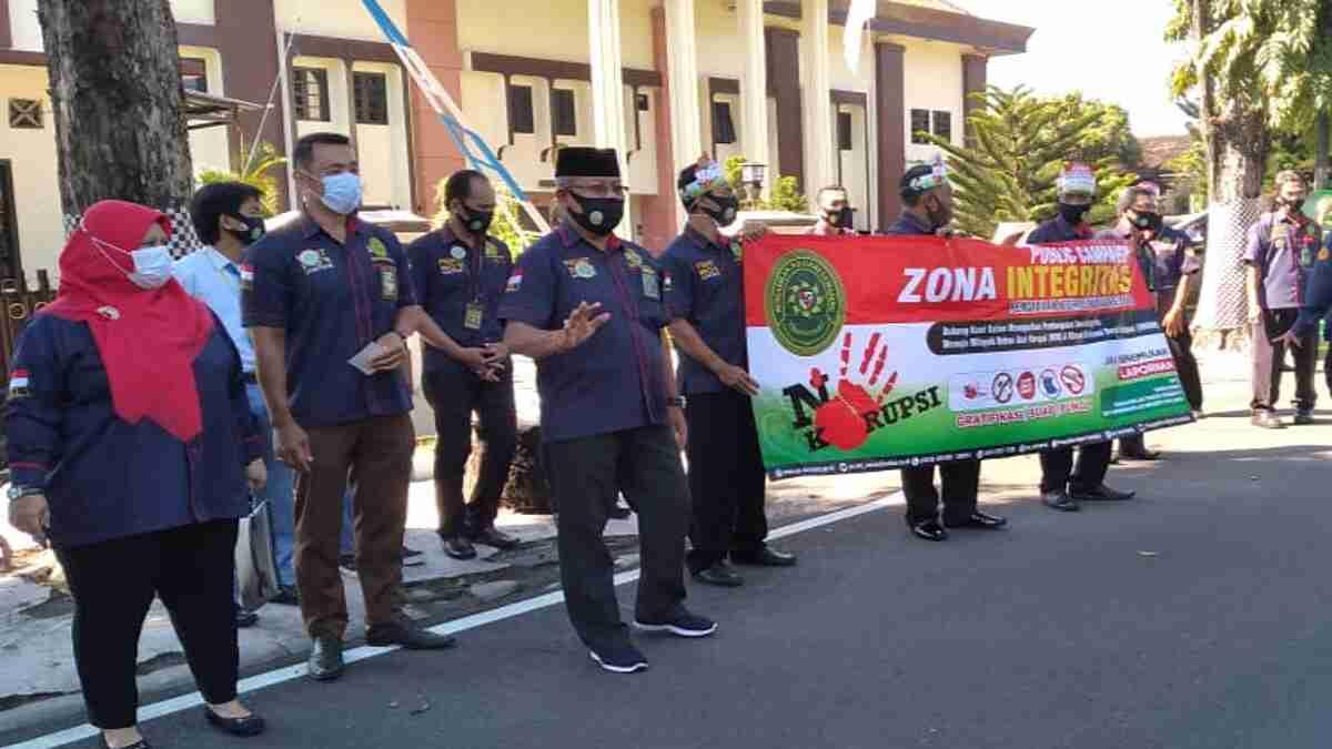 Pengadilan Negeri Lumajang Kampanyekan Zona Integritas Wilayah Bebas Korupsi