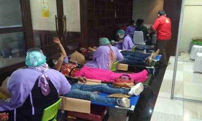Persiapan Stok di Bulan Ramadhan, PDDI dan PMI Gelar Donor Darah