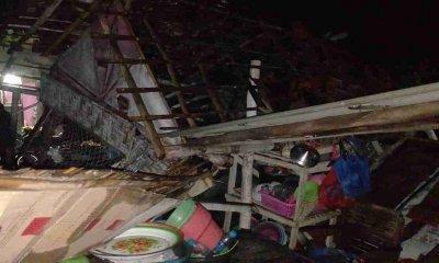 Puluhan Rumah di Dua Dusun Situbondo, Diterjang Angin Puting Beliung