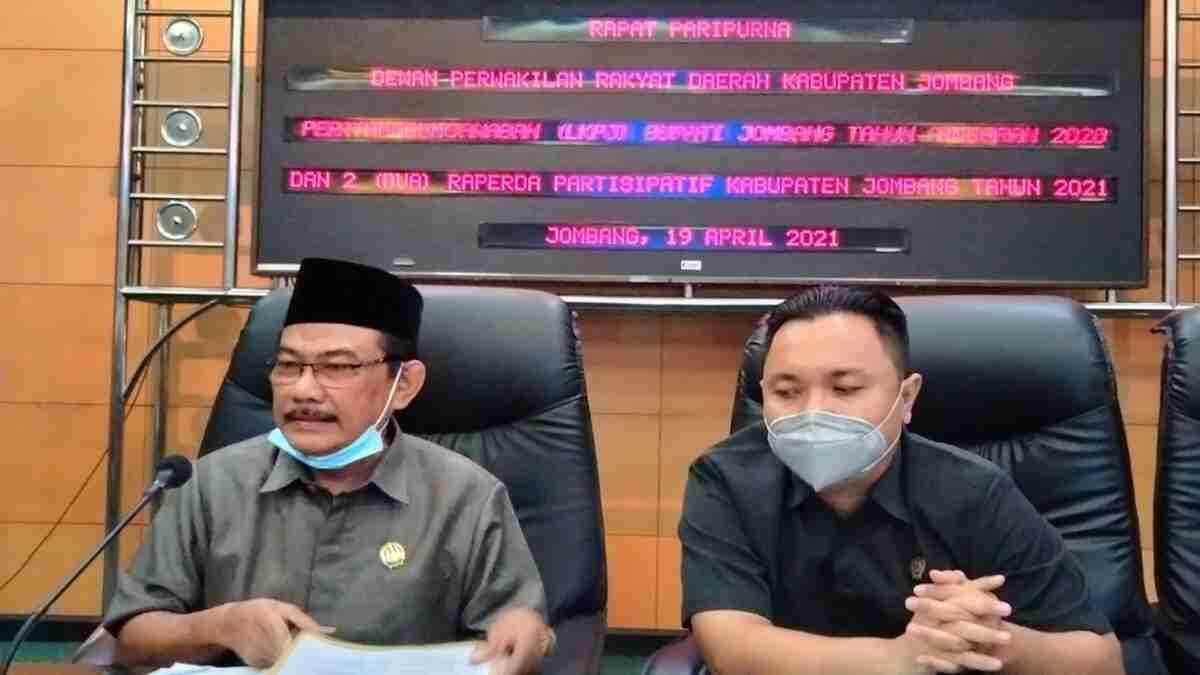 Rapat Paripurna LKPJ Bupati Jombang Tunda Tiga Hari, Gara-garanya Banyak Dewan Tak Hadir