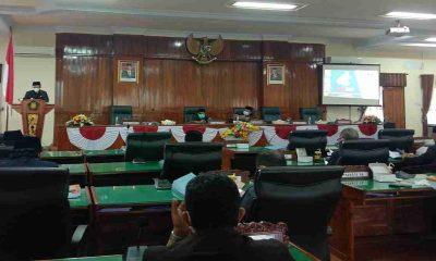 Sampaikan LKPJ Bupati 2020, DPRD Trenggalek Gelar Rapat Paripurna
