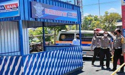Sering Terjadi Kecelakaan, Polisi Bangun Pos Pantau Black Spot Terapy di Lokasi Ini