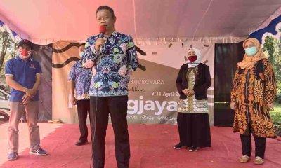 Songsong Terminal Madyopuro jadi Pasar Seni Kota Malang, Lintas Komunitas Gelar Malang Jayati