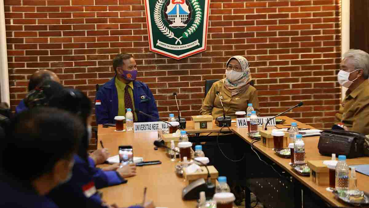 Wabup Lumajang Terima Kunjungan Ketua Prodi UM