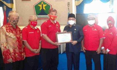 Wali Kota Malang Terima Penghargaan Penggerak Donor Darah dari PDDI