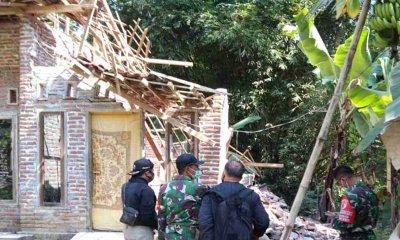 25 Rumah Terdampak Gempa Blitar, Dandim Lumajang Minta Masyarakat Tetap Tenang dan Waspada