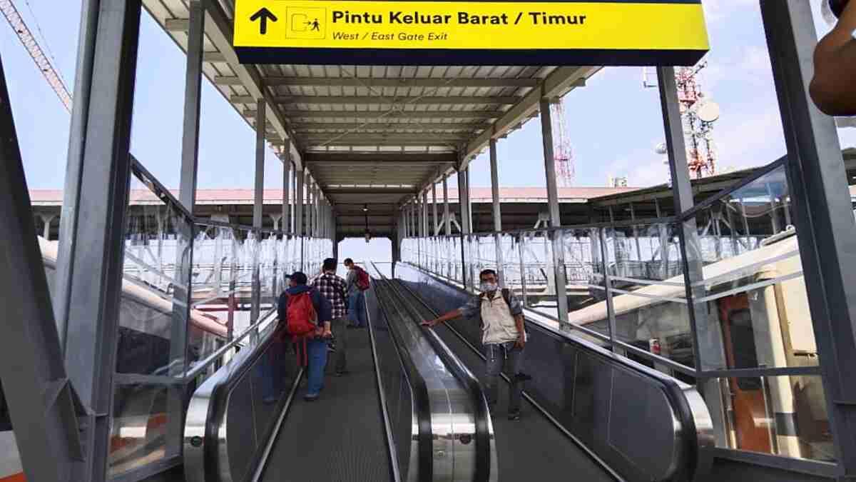 Hindari Kerumunan Penumpang, Stasiun Kota Baru Malang Mulai Operasikan Bangunan Sisi Timur