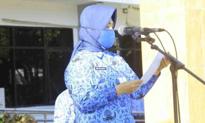 Peringatan Hari Pendidikan Nasional Bertema 'Serentak Bergerak, Wujudkan Merdeka Belajar', Sekda Probolinggo Bacakan Sambutan Menteri Dikbudristek