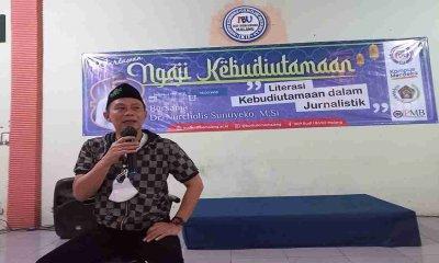 Rektor IBU Ajak PWI Malang Raya Ngaji Kebudiutamaan