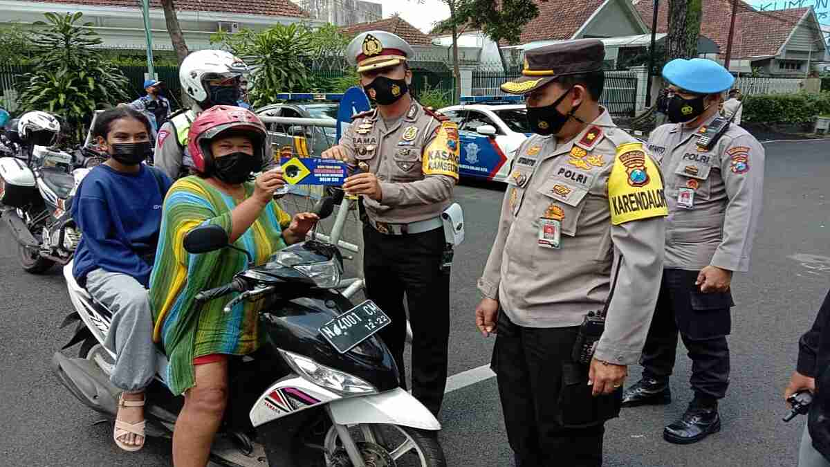 Sebanyak 6 Pos PAM dan 1 Pos Pelayanan Pantau Pergerakan Masyarakat di Kota Malang