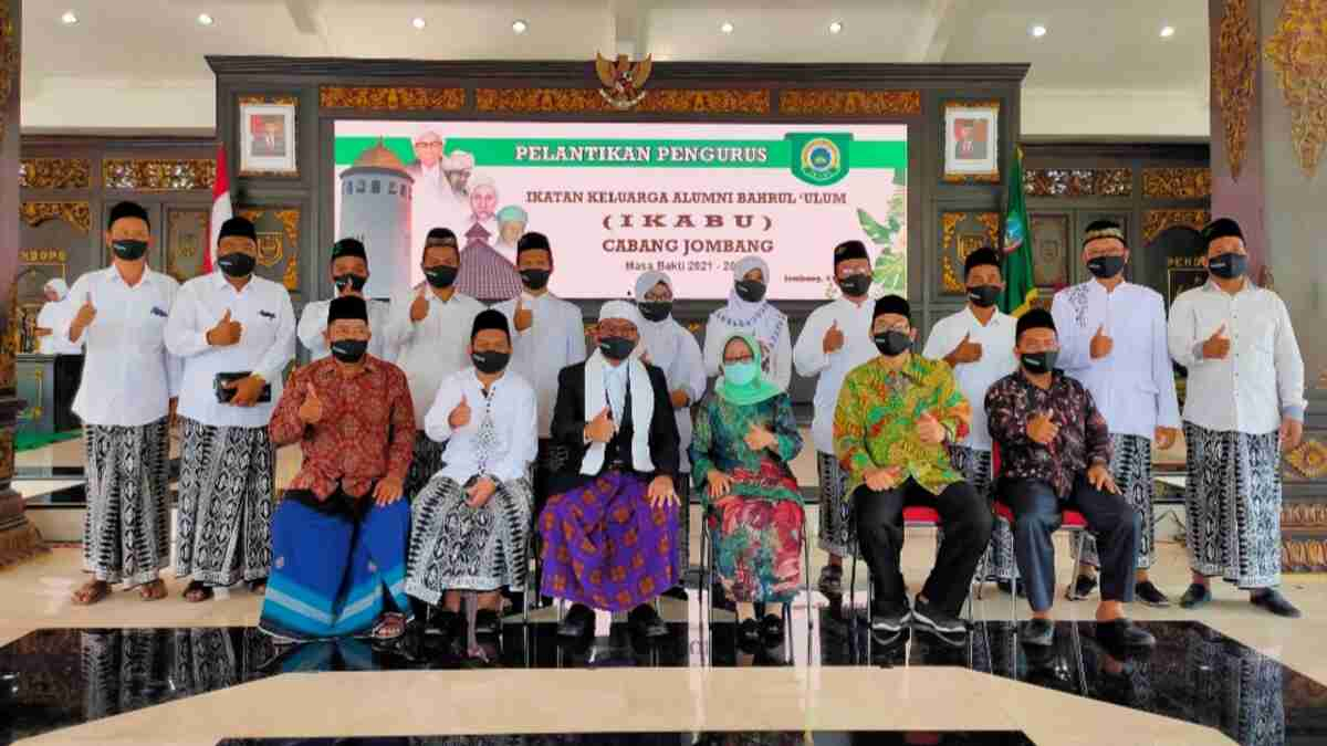 Bupati Jombang Saksikan Pelantikan Pengurus IKABU Cabang Jombang Periode 2021-2026
