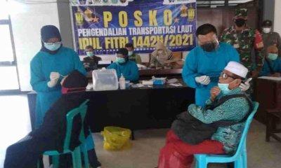 Satgas Covid-19 Kecamatan Jangkar Situbondo Temukan Tiga Calon Penumpang Kapal yang Reaktif