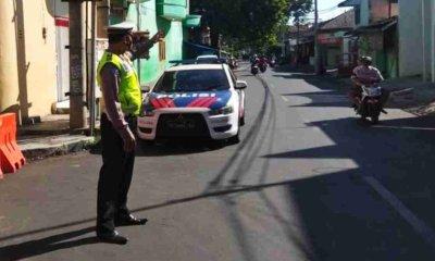 Penyekatan Jalan di Kota Probolinggo Diklaim Efektif Turunkan Mobilitas dan Kerumunan Massa