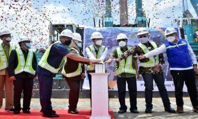 Bupati Arifin Sebut Ground Breaking Pembangunan Gedung Isolasi Covid-19 menjadi Pembangunan Sejarah di Trenggalek